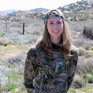 Robyn Migliorini, Vegan Turned Hunter, In Desert