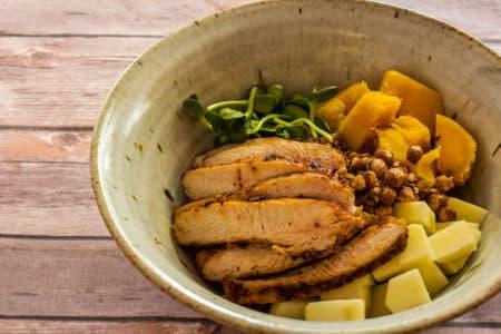 Wild Rice and Wild Turkey Bowl by Jamie Carlson