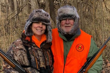 Taking Dad Hunting. Women Learning To Hunt