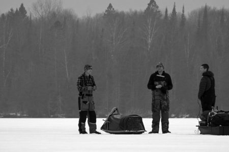 Modern Carnivore Podcast Episode 018 - Hardwater Hunters Darkhouse Spearfishing