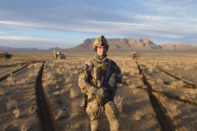 Image of John McAdams on tour in Afghanistan