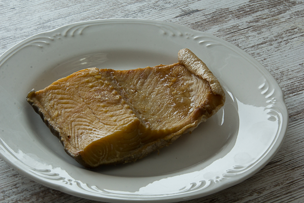 smoked lake trout to compliment superior risotto