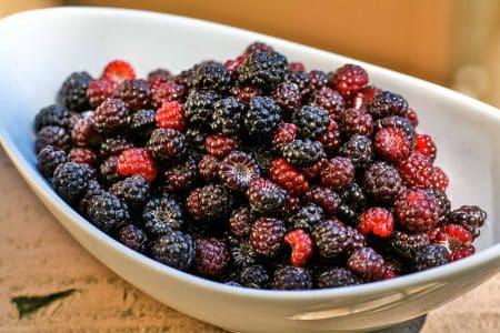 Black Cap Raspberries