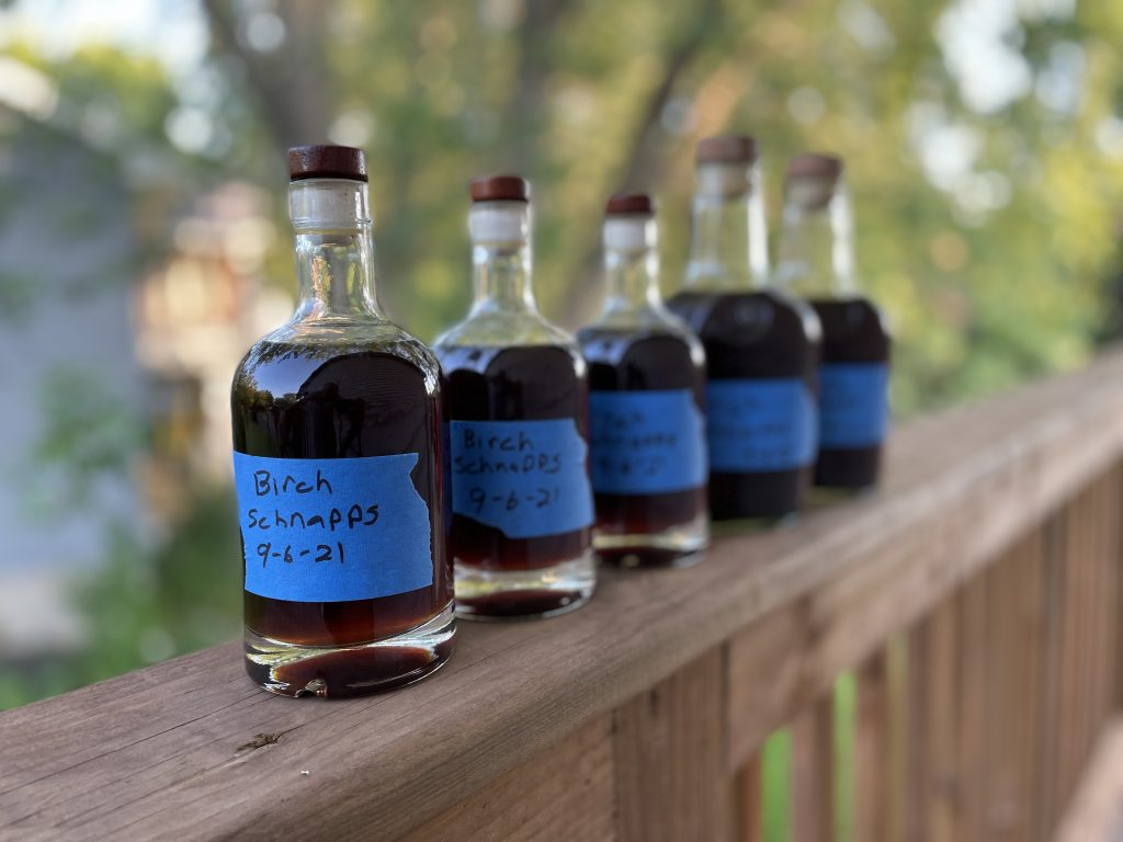 Bottled Birch Schnapps Recipe